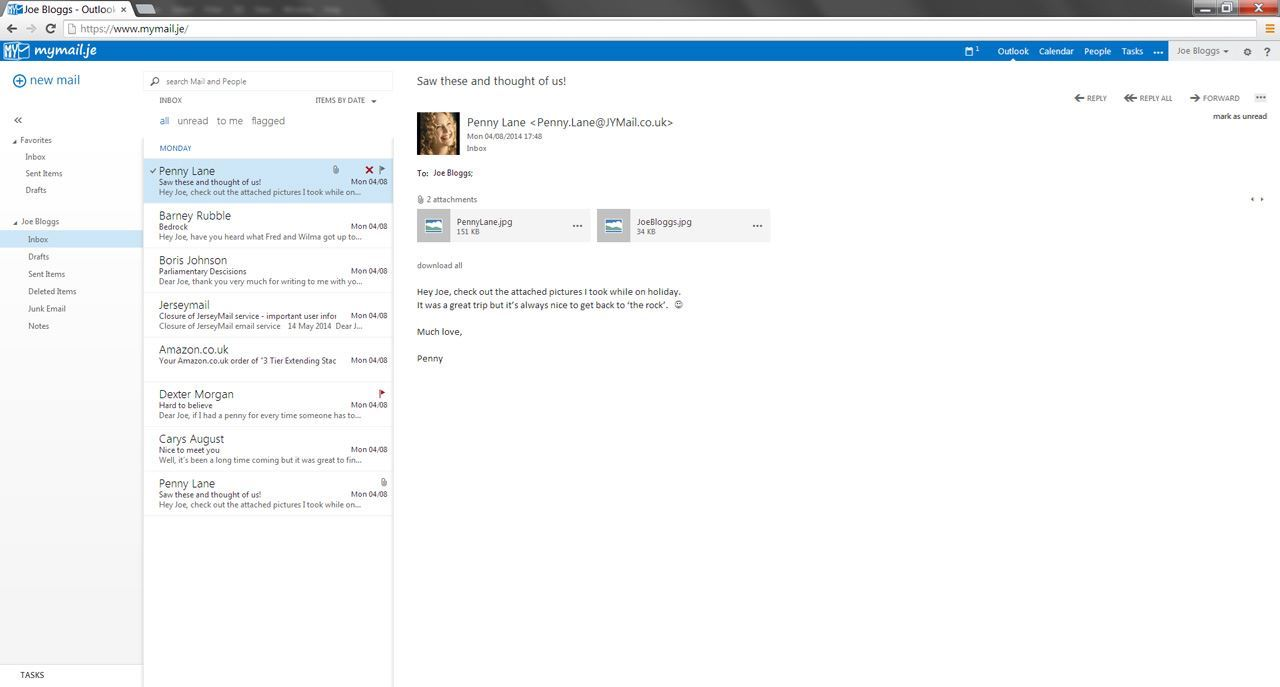 how to set up outlook live email on mac air